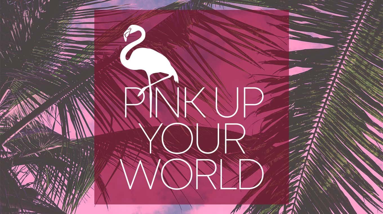 Visual Identity für Unternehmen: Logo Design für PinkUpYourWorld
