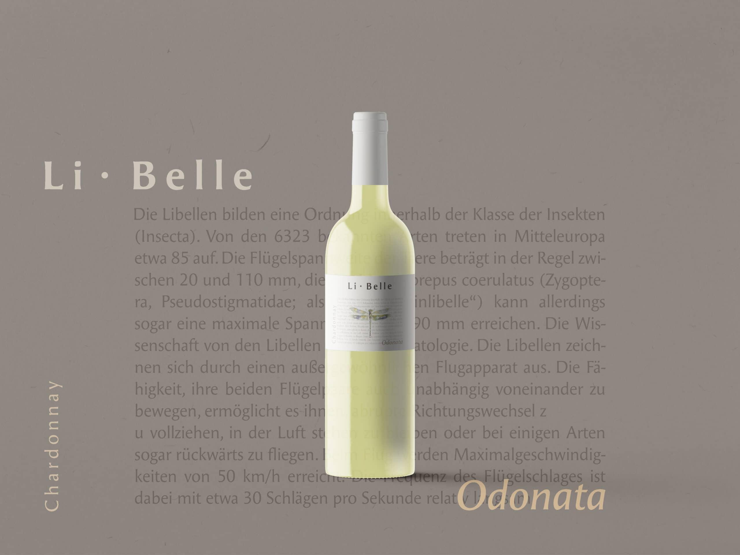 Etiketten Design Chardonnay