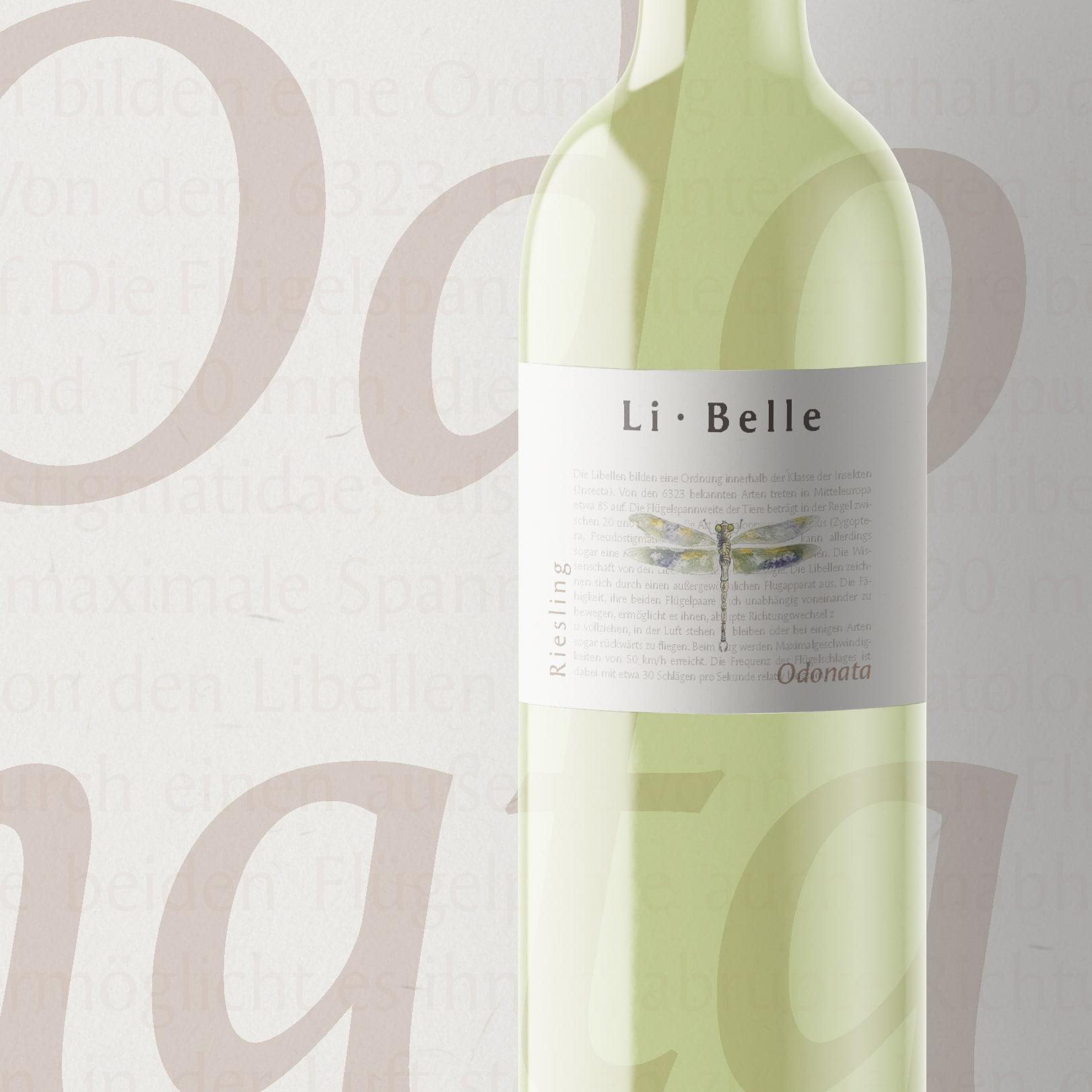 Li-Belle Etikett Ausschnitt